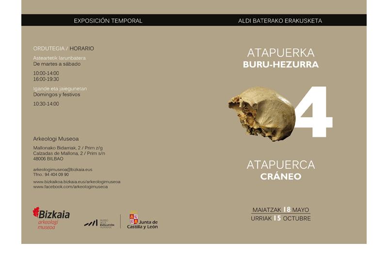 Erakusketa Atapuerca Exposición 1 Bizkaiko Arkeologi Museoa