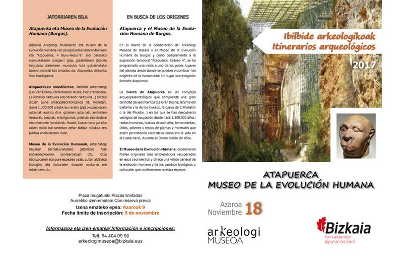 Itinerario - Ibilbidea 1 Bizkaiko Arkeologi Museoa