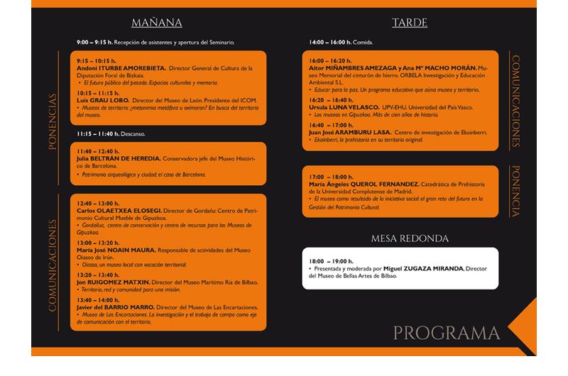 Mintegia - Seminario 2 Bizkaiko Arkeologi Museoa