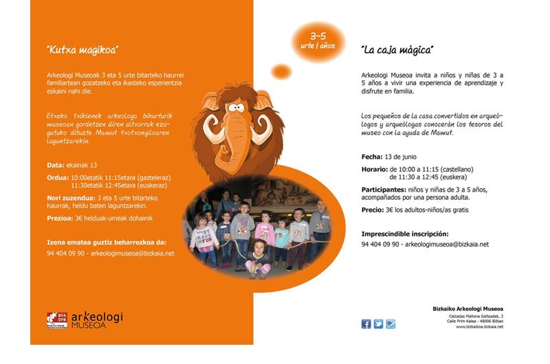 Programación Infantil Bizkaiko Arkeologi Museoa