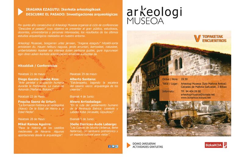 Topaketak - Encuentros 1 Bizkaiko Arkeologi Museoa
