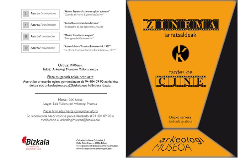 Zinema - Cine 1 Bizkaiko Arkeologi Museoa